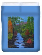 Colors Of The Blue Ridge Duvet Cover