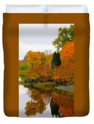 Colors Of The Fall Duvet Cover