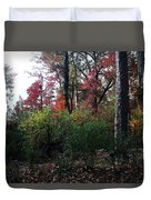 Colors Of The Forest Duvet Cover