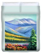 Colors Of The Mountains 2 Duvet Cover