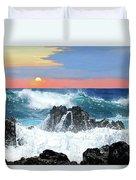 Colors Of The Ocean Duvet Cover
