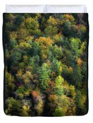 Colors Of The Smokies Duvet Cover