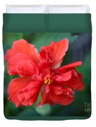 Colors Of The Tropics Hibiscus Duvet Cover
