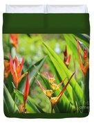 Colors Of The Tropics Duvet Cover