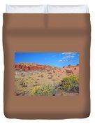 Colors Of The Utah Desert Duvet Cover