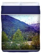 Colors Of Vail Duvet Cover