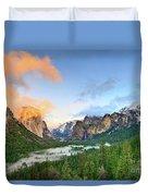 Colors Of Yosemite Duvet Cover