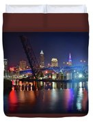 Colors On The Water Duvet Cover
