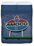 Colossal Amoco Duvet Cover