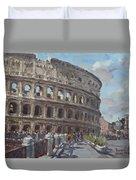 Colosseo Rome Duvet Cover