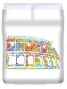 Colosseum - Colorsplash Duvet Cover