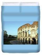 Colosseum Early Morning Duvet Cover