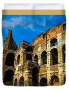 Colosseum In Rome Italy Duvet Cover