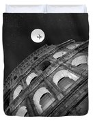 Colosseum Panorama Duvet Cover by Stefano Senise