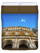 Colosseum Perspective Duvet Cover