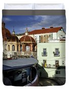 Colour Of The Streets Duvet Cover