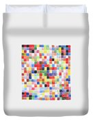 Colour Square Duvet Cover