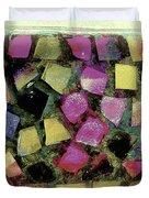 Coloured Glass Bowl Duvet Cover