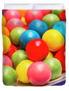Colourful Bubblegum Candy Balls Duvet Cover