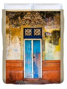 Colourful Door Duvet Cover