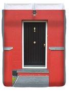 Colourful House Duvet Cover