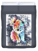 Colourful Koala Duvet Cover