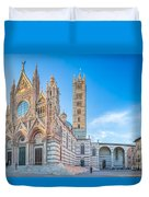 Colourful Siena Cathedral Duvet Cover