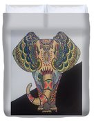 Colours In An Elephant Duvet Cover