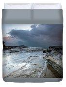Colours Of A Storm - Seascape Duvet Cover