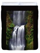Columba River Gorge Falls 3 Duvet Cover