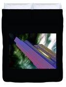 Columbia And Municipal Towers Seattle Wa Duvet Cover