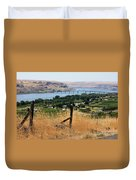 Columbia River - Biggs And Maryhill State Park Duvet Cover