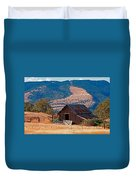 Columbia River Barn Duvet Cover