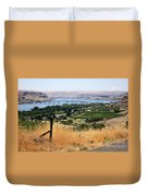 Columbia River Gorge Duvet Cover