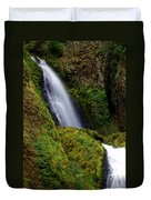 Columbia River Gorge Falls 1 Duvet Cover