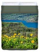 Columbia River Gorge Duvet Cover