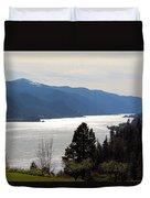 Columbia River Duvet Cover