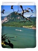 Columbia River Traffic Duvet Cover