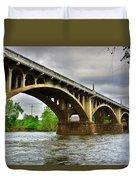 Columbia S C Gervais Street Bridge Duvet Cover
