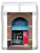 Columbia Water Works Duvet Cover