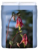 Columbine Sentinals Duvet Cover