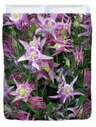 Columbine Splendor Duvet Cover