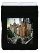 Columbus Circle Duvet Cover