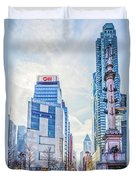 Columbus Circle Duvet Cover