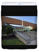 Columbus, Indiana City Hall Duvet Cover
