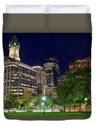 Columbus Park Boston View Duvet Cover
