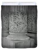 Column Of Mount Vernon Place Duvet Cover
