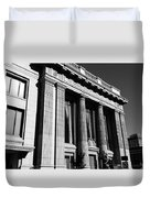 Columns And Buildings Duvet Cover