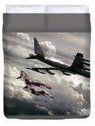 Combat Air Patrol Duvet Cover