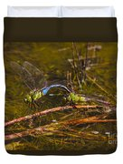 Come Along With Me Dragonflies Duvet Cover